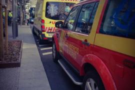 Un obrero fallece tras una caída de 8 pisos en la Gran Vía de Madrid