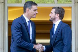 Sánchez no descarta «ningún escenario» para actuar en Cataluña