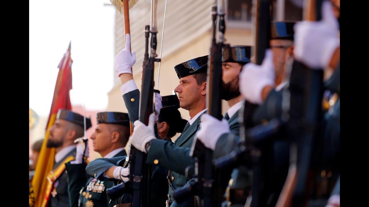 La retransmisión de la celebración de la patrona de la Guardia Civil de Baleares