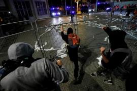 Herido un cámara de Telemadrid por los lanzamientos de los manifestantes en Barcelona