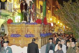 Siete procesiones recorren Palma la noche del Miércoles Santo