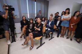La conferencia de prensa realizada tras la apertura del año judicial en Ibiza, en imágenes .