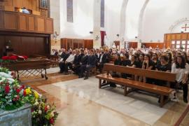 El funeral de Ernesto Ramón Fajarnés, en imágenes (Fotos: Marcelo Sastre).