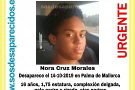 Buscan a una menor desaparecida en Palma