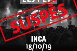 Els Pets suspenden su concierto en Inca por la excepcionalidad en Cataluña