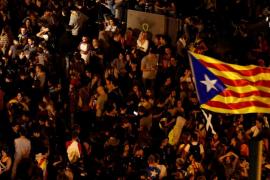 Los CDR desconvocan la manifestación de Barcelona tras reunir a unas 13.000 personas