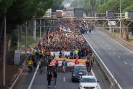 Así ha sido la huelga general en Cataluña