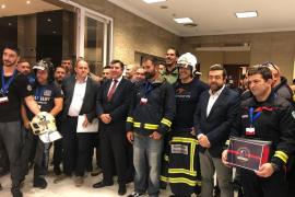 Los principales partidos acuerdan aprobar la homogenización estatal del servicio de bomberos