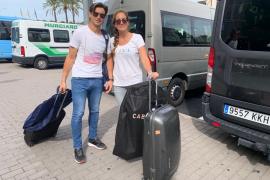 David Ferrer y Marta Tornel.