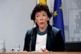 Celaá se compromete a mantener la «neutralidad» que le exige la JEC en la rueda de prensa del Consejo de Ministros