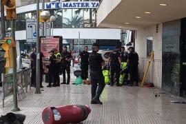 Fallece la mujer atropellada en el Paseo Marítimo de Palma