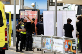 Muere una turista alemana atropellada en el Paseo Marítimo de Palma