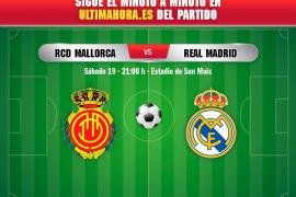 Real Mallorca-Real Madrid, en directo