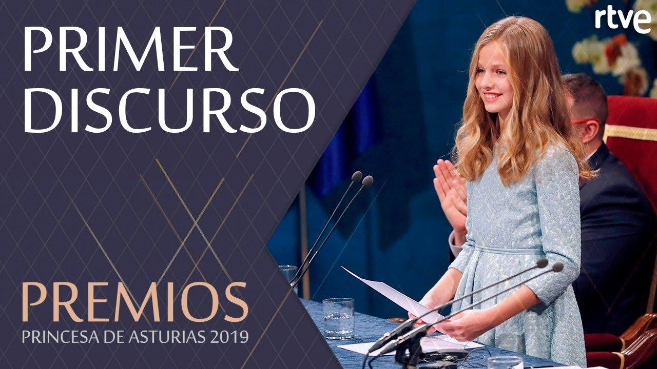 La princesa Leonor se compromete a «servir a España» con «entrega y esfuerzo»