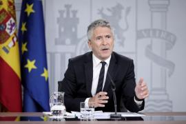 Marlaska, a los violentos: «Les vamos a aplicar el Código Penal con toda contundencia»