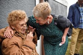 Una anciana recupera su vivienda okupada gracias a la presión vecinal