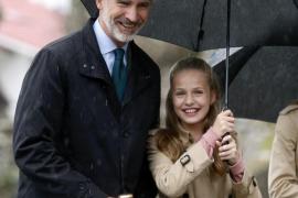 La Princesa Leonor: «Asturias es mi casa y Asiegu tendrá siempre un lugar especial en mi corazón»