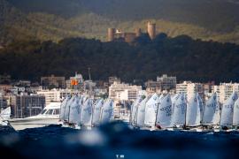 La Regata Audax Marina llena de velas la Bahía de Palma