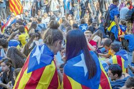 Mallorquines en el centro de una convulsa semana en Barcelona