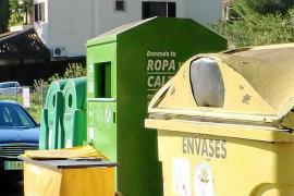 Llucmajor y Marratxí sólo reciclan el diez por ciento de las basuras que generan
