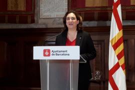 Colau pide a Torra y a Sánchez que «dialoguen» para solucionar el conflicto en Cataluña