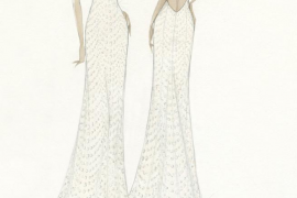 El segundo vestido de novia de Maria Francisca Perelló