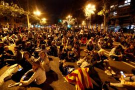Cortes de calles por la movilización masiva en Barcelona