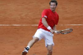 Austria gana el dobles y se mantiene en la eliminatoria