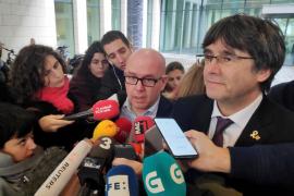 Registro en la casa del abogado de Carles Puigdemont