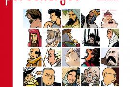 El cómic retrata a los grandes personajes de Balears