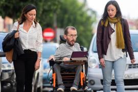 Echenique dice que el adversario de Unidas Podemos es «quien manda mucho sin presentarse»
