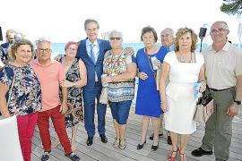 Homenaje a Gabriel Escarrer en Calvià