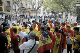 Delegación del Gobierno investiga la contramanifestación del domingo en Palma