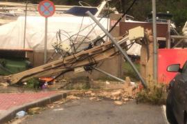Las consecuencias del temporal en Ibiza, en imágenes (Fotos: Daniel Espinosa / Arguiñe Escandón).