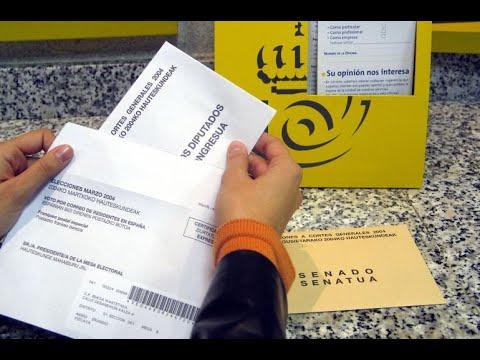 ¿Cómo votar por correo el 10N?