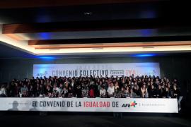 Las futbolistas de Primera División anuncian la convocatoria de una huelga
