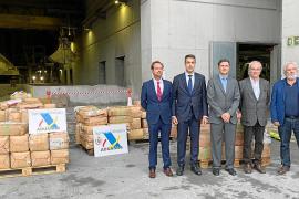 Incineran el mayor decomiso de hachís realizado en Baleares