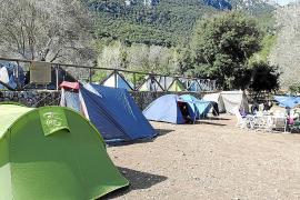 Desciende el número de acampadas en Lluc  mientras se disparan las visitas al museo