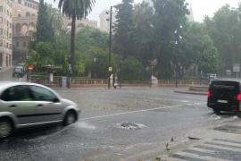 Récord histórico de precipitaciones en Porto Pi