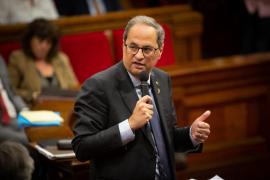 Torra reprocha a Sánchez «dejadez de funciones» en Cataluña