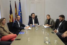 Javier Maroto se ha reunido en Palma con el presidente del PP balear y los candidatos por Baleares en las elecciones generales del 10N