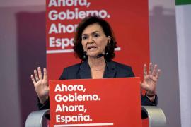 Carmen Calvo protagonizará el domingo un mitin en Calvià
