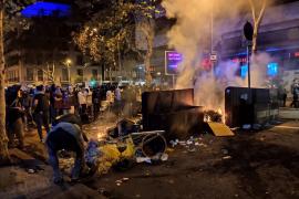 Barcelona cifra en 3,1 millones los daños por los altercados por la sentencia del 1O