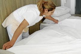 El 13,3 % de las camareras de piso de Baleares toma algún tipo de psicotrópico