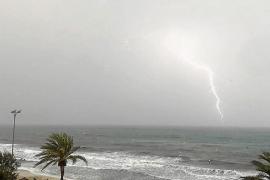 La DANA abandona las Islas y deja superávit de lluvias en octubre