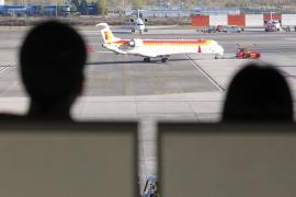 Palma no registra ninguna cancelación de vuelos de Iberia