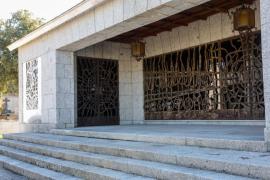 Entrada al panteón de Mingorrubio, en El Pardo.