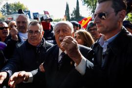 El exgolpista Tejero acude a Migorrubio para despedir a Franco
