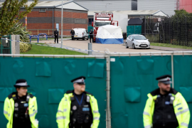 Los 39 fallecidos hallados en un camión eran de nacionalidad china