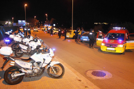 La Policía Local 'cierra' las entradas de la droga a una macrofiesta en el polígono de Son Oms